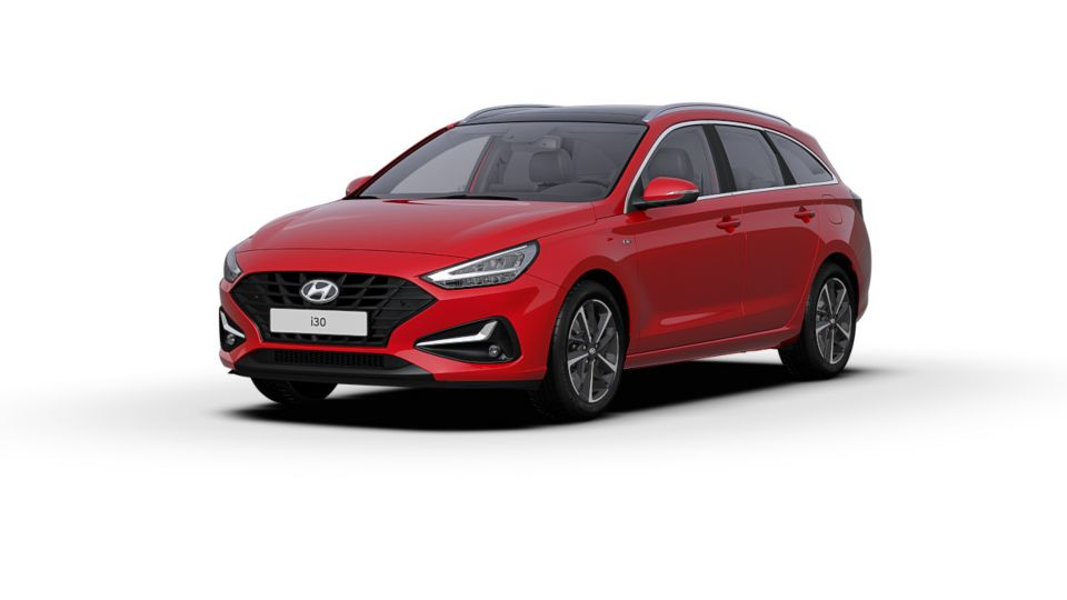 i30 SW engine red - Garage Jean Cauvin - Hyundai Grasse